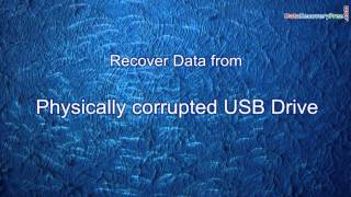 How to Recover Data from Undetectable USB Drive using DDR Data Recovery Software
