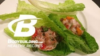 Healthy Recipes:Lettuce Wrapped Turkey Muffins