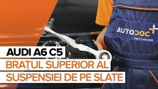 Cum schimbare Burduf Bieleta Directie AUDI A6 Avant (4B5, C5) - tutoriale video