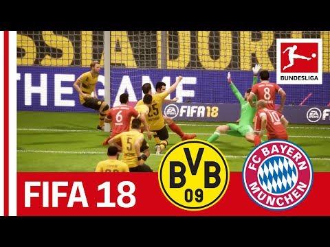 Dortmund vs. Bayern - FIFA 18 Prediction with EA Sports