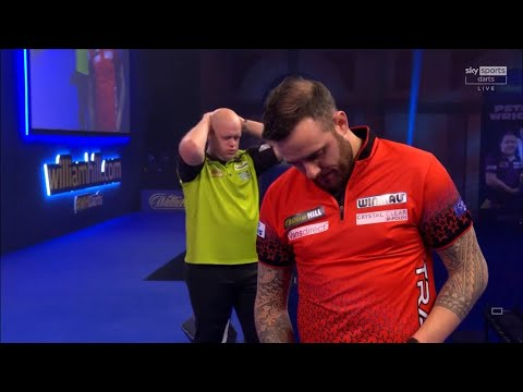 """Michael van Gerwen on EPIC win over Cullen """"It was one of my toughest World Championship games ever"""""""