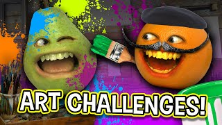 ART CHALLENGES SUPERCUT! | Annoying Orange