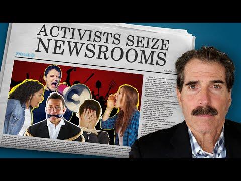 Activists Seize Newsrooms