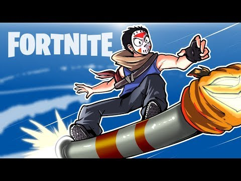 Thumbnail: FORTNITE BR - Funny Moments, Wins And Fails! (ROCKET RIDE)