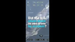 Iran says video proves the U.S didn't shoot down its drone.