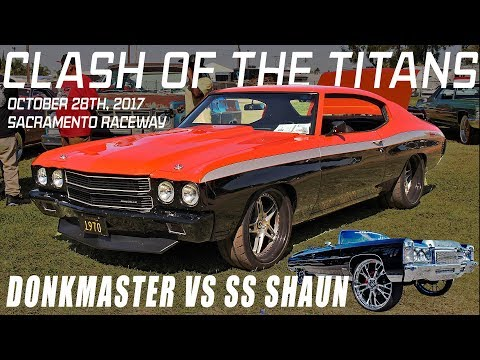 DONKMASTER & SS SHAUN INVADE THE WEST COAST! # Clash Of The Titans Grudge Race 10.28.17