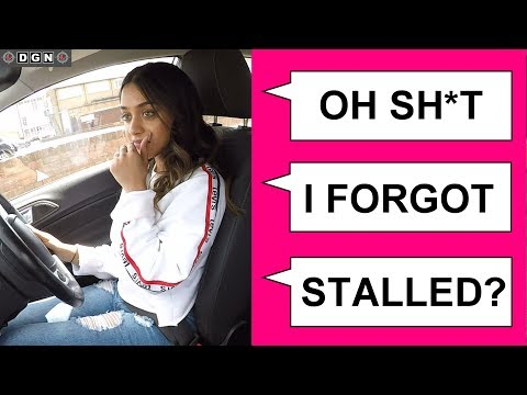 Things NOT To Say On Your Driving Test - Learner Driver Fails