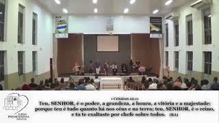 CULTO SANTA CEIA IPE - 04/10/2020