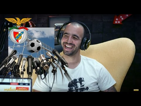"""Maluco Beleza - """"Pensam que os jogadores são limitados """" - Ruben Amorim (pt1)"""