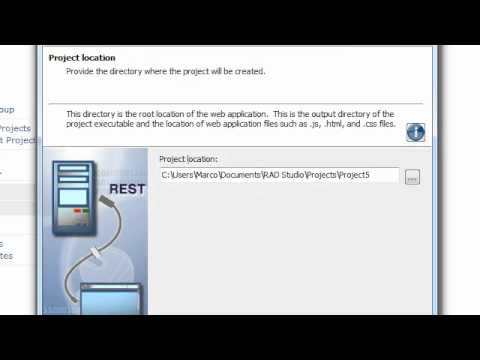 REST Servers in Delphi XE Part I - Building a REST Server