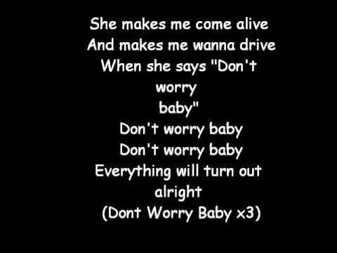 Don't Worry Baby Lyrics Beach Boys