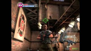 Psi-Ops: The Mindgate Conspiracy - Gameplay PS2 HD 720P