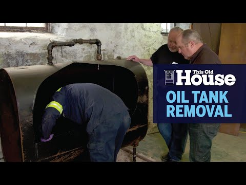 How to Remove an Old Oil Tank | This Old House