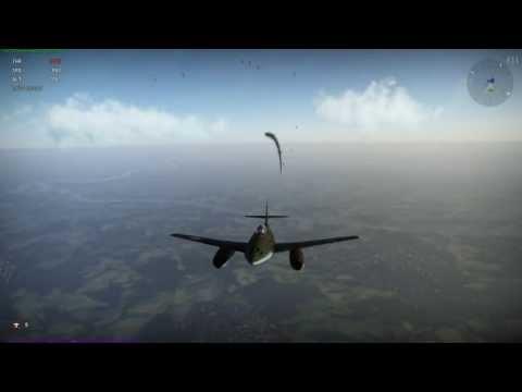 War Thunder - Me262 Schwalbe Luftwaffe Jet Fighter