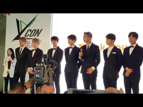 [KCON 2016 Abu Dhabi] BTS Surprise Guest - Bang Si-hyuk's Press Conference
