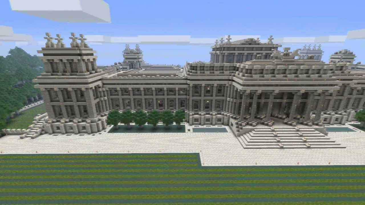 MYTeaser - Minecraft Blenheim Palace - YouTube