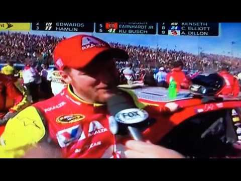 Dale Earnhardt Jr Phoenix Post Race Interview 3/13/16