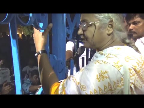 Must Watch! Medha Patkar Sharp speech | Will occupy HCU on 6th April | Entry denied at campus