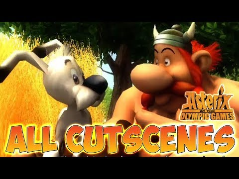 Download Asterix at the Olympic Games All Cutscenes   Full Game Movie (X360, Wii, PS2)