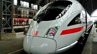 歐遊德捷 德國烏茲堡~高速火車~法蘭克福
