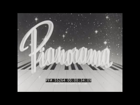 RUDOLPH WURLITZER CO.  PIANO MANUFACTURE & SALES PROMOTIONAL FILM 55264