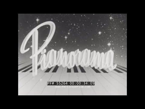 RUDOLPH WURLITZER CO.  PIANO MANUFACTURE & SALES PROMOTIONAL FILM 55264