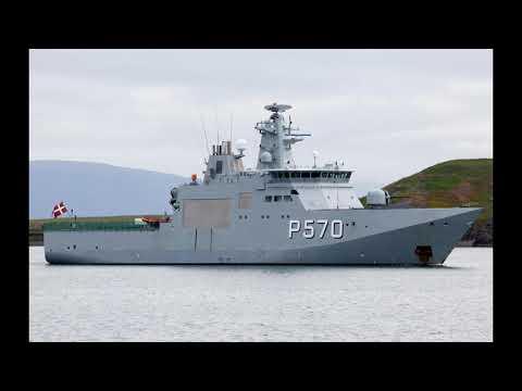 丹麥海軍 克努茲級巡邏艦 剪輯