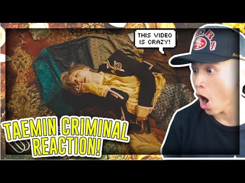 FIRST TIME REACTING TO TAEMIN 태민 'Criminal' MV![REACTION]