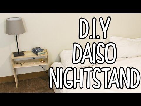DIY Nightstand | Daiso DIY Project