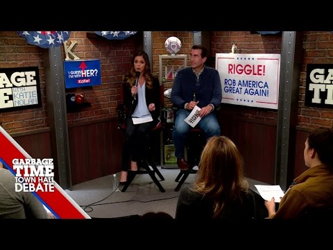 Garbage Time Town Hall Debate: Katie Nolan and Rob Riggle