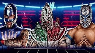 Rey Mysterio, Myzteziz And Kalisto (Masked Marvels) ''My Pain''