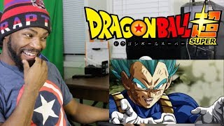 Dragon Ball Super - Episode 122 REACTION!!! (VEGETA REALLY DID THAT)