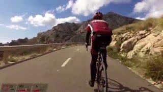 Cycling from Cap Formentor to Port de Pollenca, Mallorca april 2016