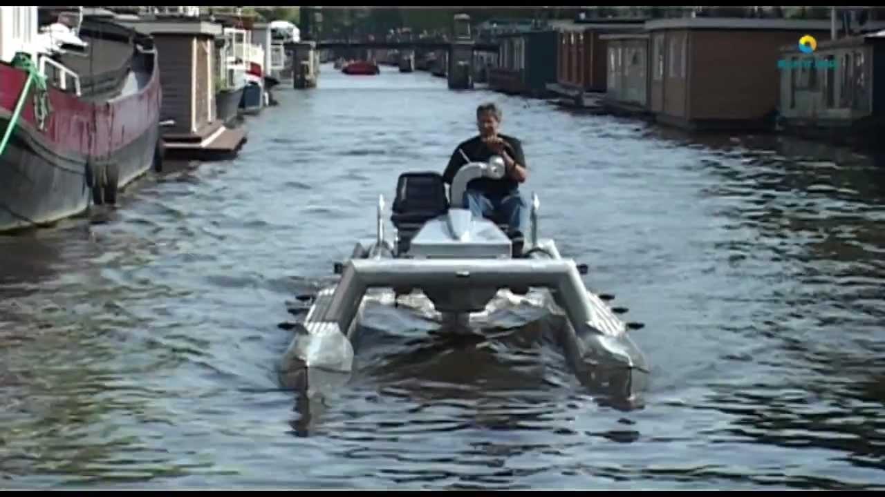 Motor Catamaran Amsterdam Youtube
