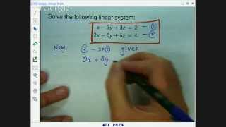 2 equations 3 unknowns identical planes