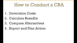 How to do a Cost Benefit Analysis: A 3-Minute Crash Course