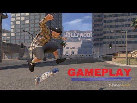 GAMEPLAY: Tony Hawks Pro Skater 4 - PS2 - Fazendo Manobras Radicais