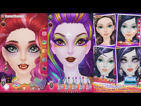Halloween Makeup Me Videos games for Kids - Girls - Baby Android ...