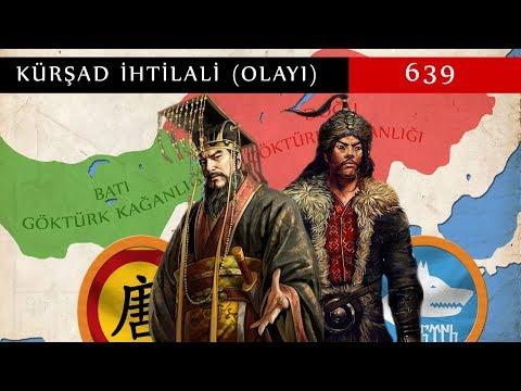 Kürşad Revolution 639 || Turkic Khaganate Revolt