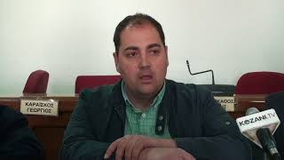 Ο Σ. Καδόγλου για τη 10η Egnatia Expo στην Πτολεμαϊδα
