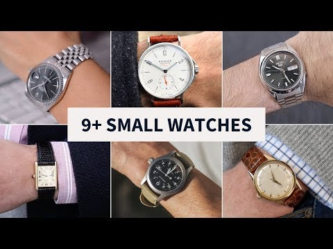 9 Great Watches For Small Wrists (Under 40mm) // Seiko, Rolex, Hamilton And MORE
