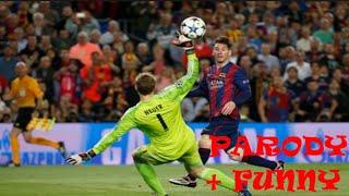 ... here u have barcelona vs bayern munich parody version hope enjoy it , made by