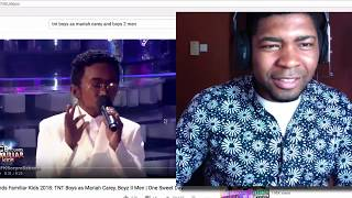 VOCAL COACH Reacts To TNT Boys as Mariah Carey, Boyz II Men | One Sweet Day