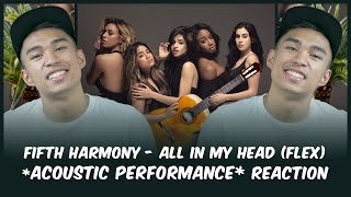 FIFTH HARMONY - All In My Head Flex (Acoustic Performance) REACTION // Reactions With Red Guy