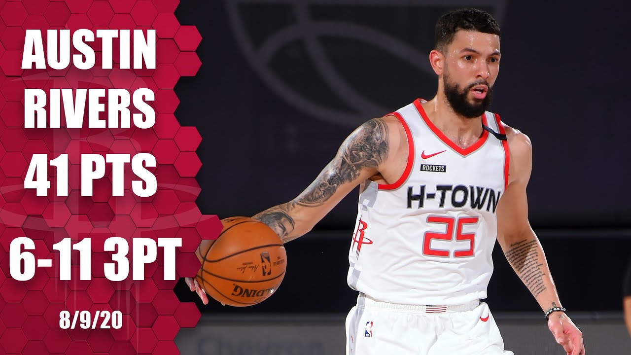 Austin Rivers erupts for first career 40-point game vs. Sacramento Kings | 2019-20 NBA Highlights