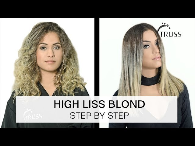 HIGH LISS BLOND | Steb by Step