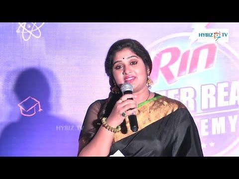 Priya Actress Rin Press Meet Hyderabad - Hybiz.tv