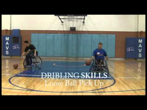 Wheelchair Basketball Dribbling Skills