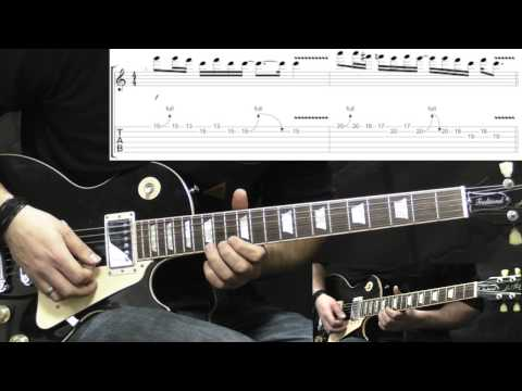 Alice In Chains - Them Bones - Solo - Guitar Lesson (with TABS)