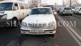 Շղթայական ավտովթար Երևանում  Շիրազի փողոցում բախվել են Honda ն, ГАЗ 3110 ն ու Chevrolet ն